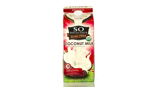 Coconut milk (50 calories; 1g protein)