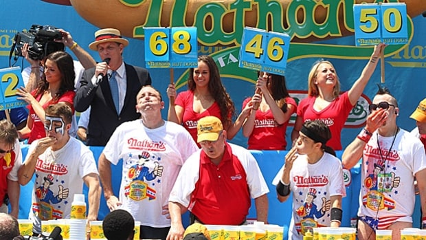 Nathan's Famous Hot Dog Eating Contest - Coney Island, N.Y.