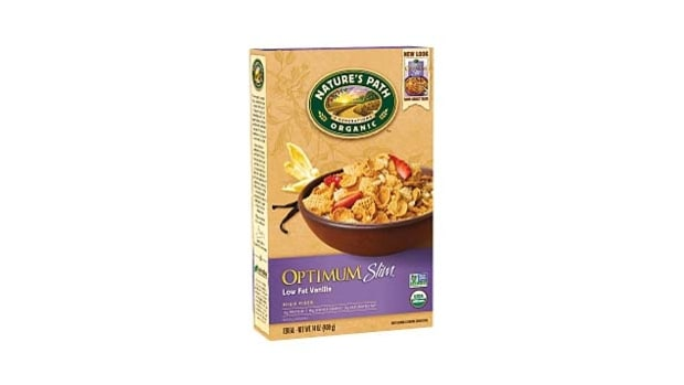 Nature's Path Optimum Slim Low Fat Vanilla Cereal