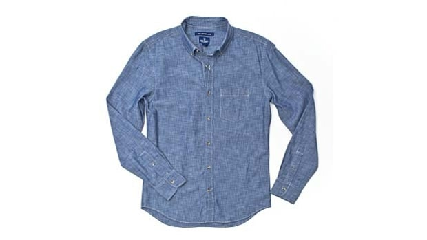 Old Navy Slim-Fit Chambray Shirt