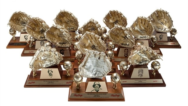 Ozzie Smith's 13 Gold Gloves