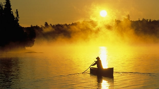 Paddling the Boundary Waters Canoe Area (Minnesota)