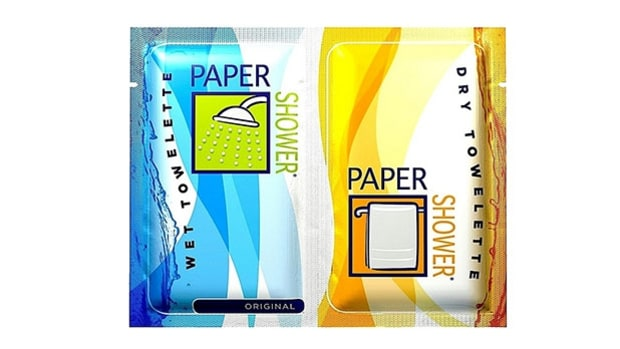 Paper Shower Body Wipes