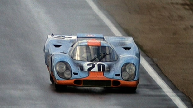 The Porsche 917 at Le Mans