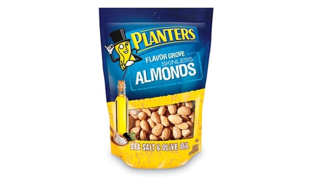 Planters Flavor Grove Almonds with Seasalt & Olive Oil