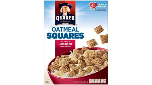 Quaker Oatmeal Square Cinnamon
