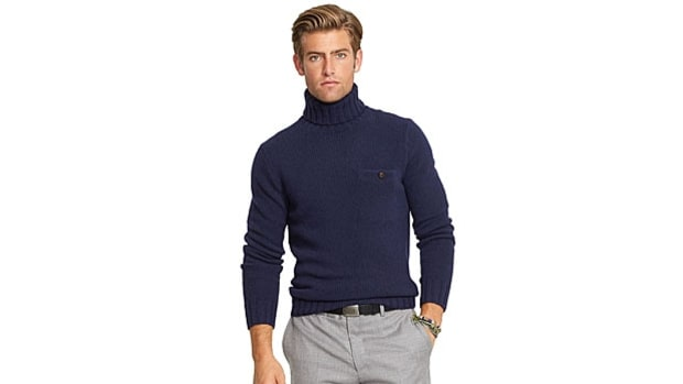 Ralph Lauren Merino Turtleneck