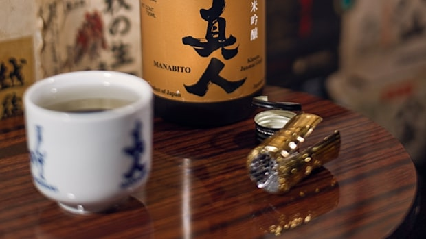 Try old-fashioned sake.