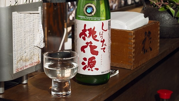 Try seasonal sake.