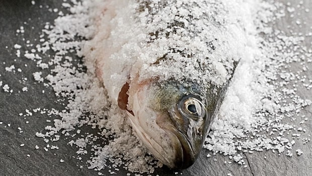 Salt-Crusted Whole Fish