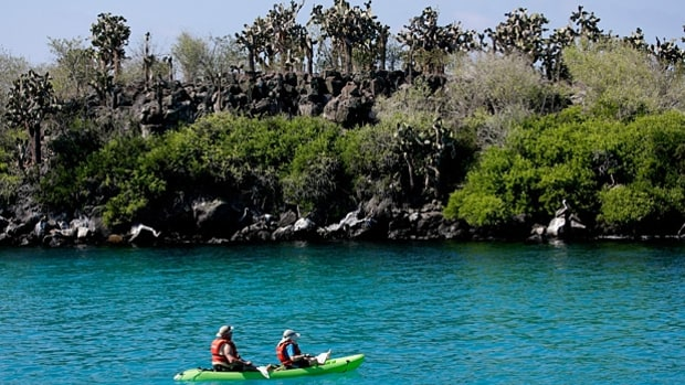 Sea Kayaking the Galapagos