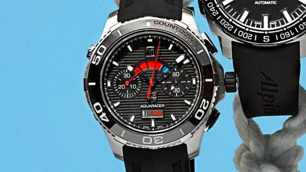TAG Heuer Limited Edition Team USA Oracle Aquaracer