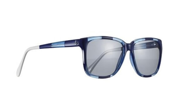 Sherrif & Cherry G12 Blue Striped Sunglasses