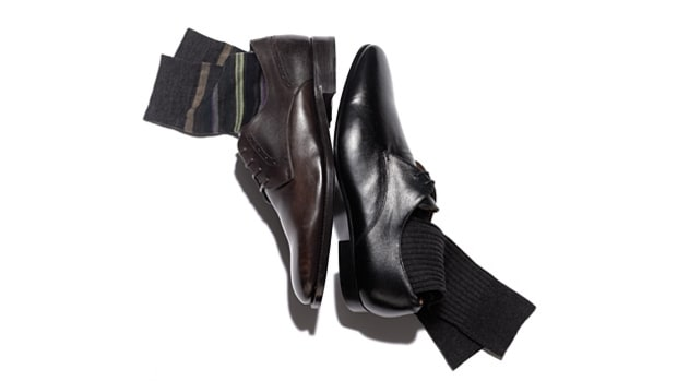 Dark Dress Shoes