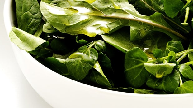 Add more greens to your diet.
