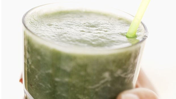Drink a nutrient-packed smoothie for breakfast.