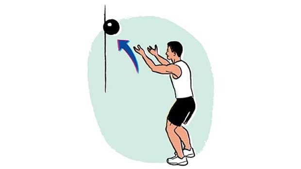 Medicine ball throws