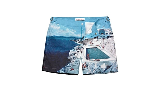 More Stylish Swim Trunks for Summer