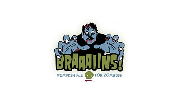 Spring House: Braaains (Pumpkin Ale for Zombies)