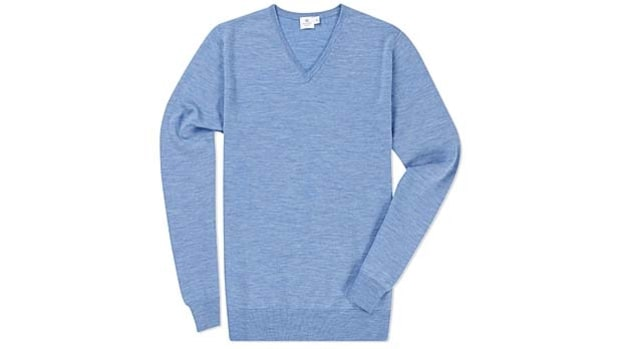 V-Neck: Sunspel's Fine Merino Jumper