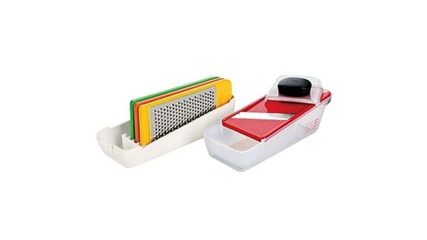 The All-in-One Grater (Oxo Good Grips Complete Grate & Slice Set)