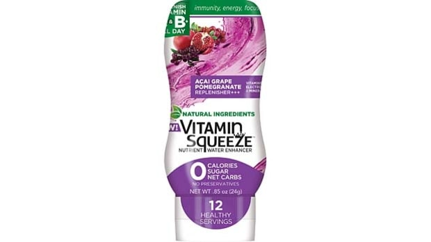 Vitamin Squeeze Açai-Grape-Pomegranate Flavor