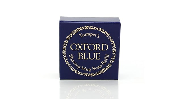 Trumper's Oxford Blue Shaving Soap