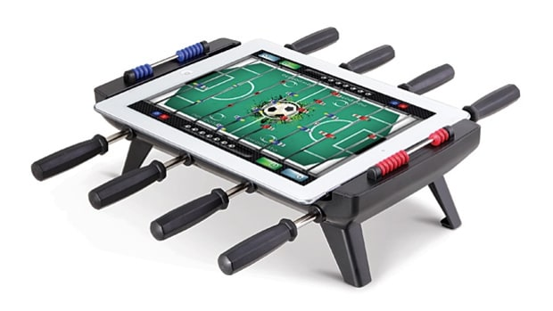 For your brother-in-law: iPad-to-Foosball Table Converter