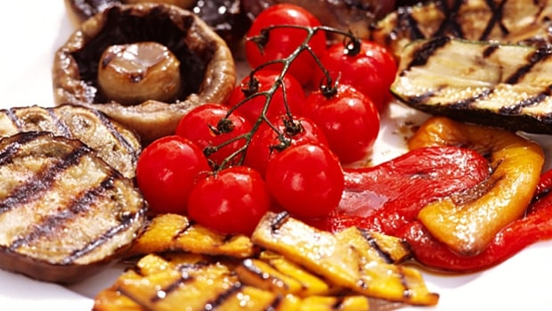 Jean-Pierre Moullé's Grilled Vegetables