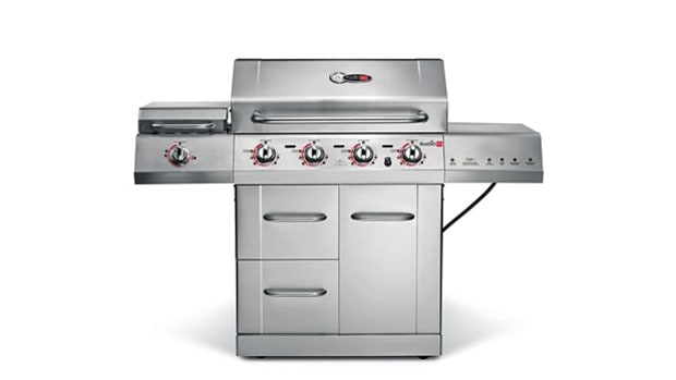 Best Buy Gas Grill: Char-Broil Tru-Infrared Gourmet 4-Burner T-47D