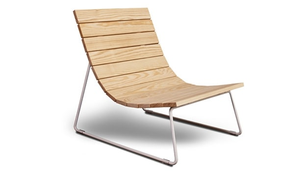 Council Design Plank Lounger