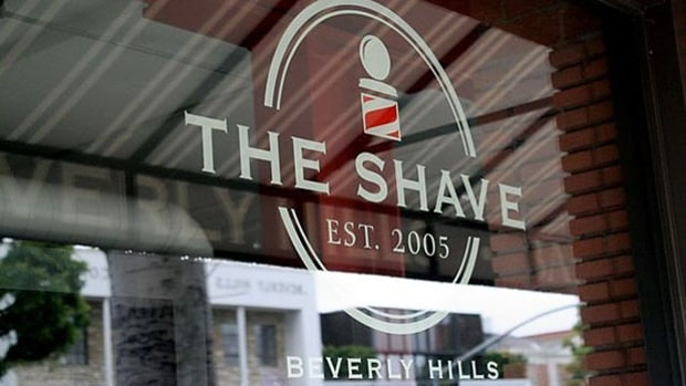 The Shave in Beverly Hills, Calif.