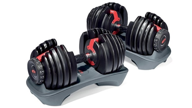 Bowflex SelectTech 552 Adjustable Dumbbells