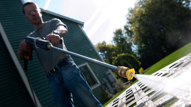 Pressure Washers, the Ultimate Backyard Cleanup Tool