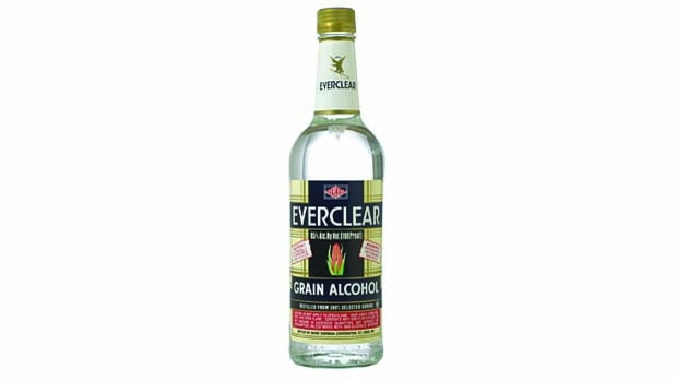Everclear Grain Alcohol.
