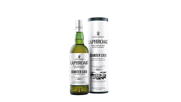 Laphroaig Quarter Cask Islay Single-Malt Scotch Whiskey