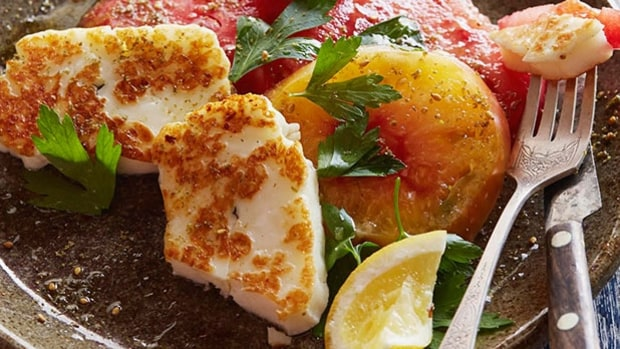 Tomato & Halloumi Salad with Za'atar