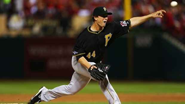 Tony Watson, 28, relief pitcher, Pittsburgh Pirates