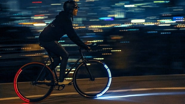 Five Bicycle Lighting Systems for Night Riding