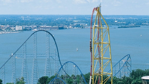 Top Thrill Dragster, Cedar Point (Sandusky, Ohio)