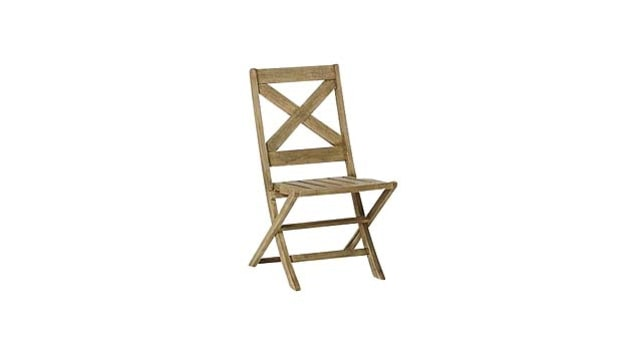 West Elm Jardine Folding Chair