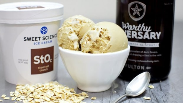 Minneapolis: Sweet Science Ice Cream and Fulton Brewing collab on beer ice cream.