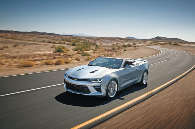 Sports and Performance: 2016 SS Convertible