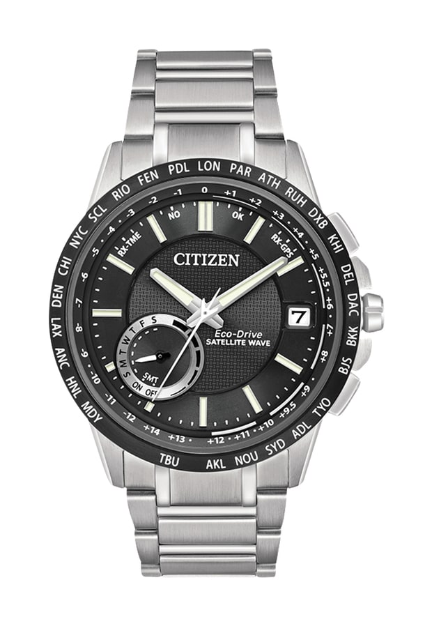 Citizen Satellite Wave World Time GPS