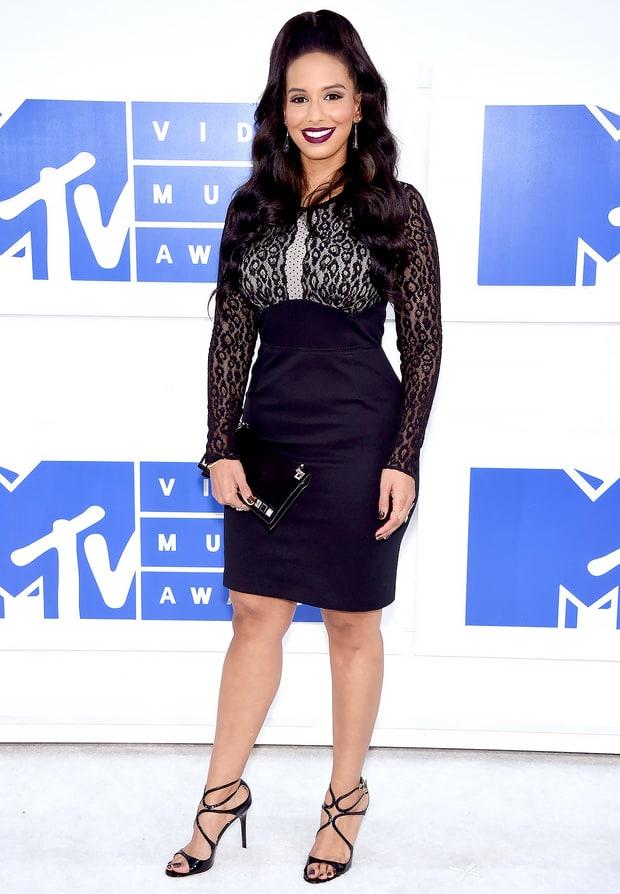 Nessa diab mtv vmas 2016 red carpet fashion see what the stars wore