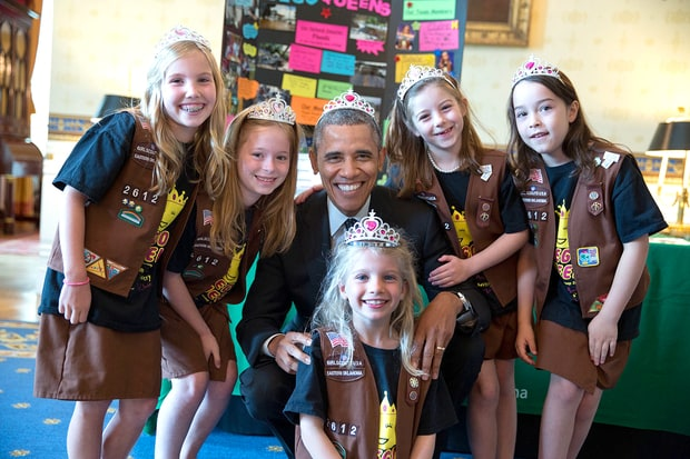 President Obama's Most Adorable Moments With Little Kids