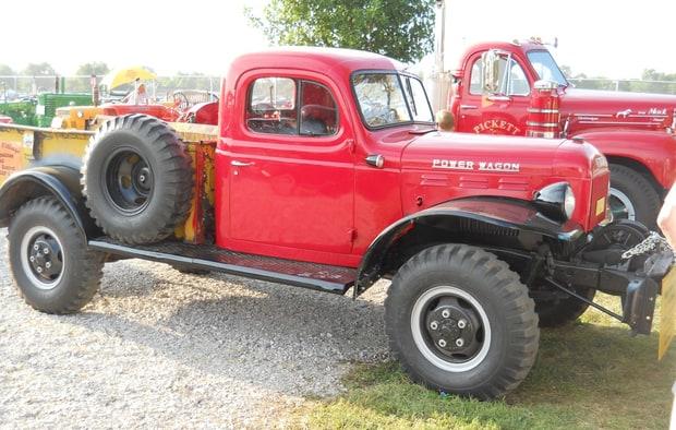 Dodge Flat Fender Power Wagon