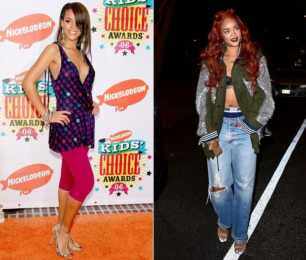 Rihanna   These Stars Looked So Different 10 Years Ago ... Kim Kardashian Robbery