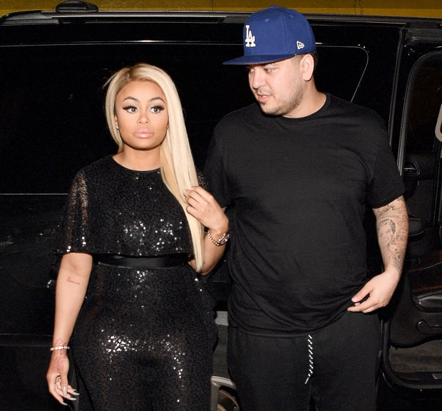 Image result for Blac Chyna & Rob Kardashian