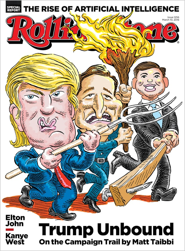 Donald Trumps Campaign In Magazine Covers CNNPolitics - 22 cartoonists from around the world respond to trumps election win
